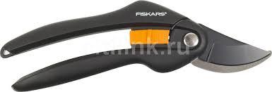 Купить <b>Секатор плоскостной Fiskars</b> SingleStep P26 черный ...