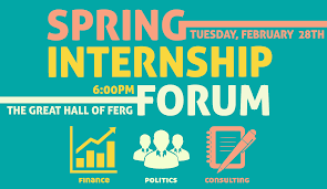 honors college spring internship panel events calendar the honors college students who have completed internships in finance ngos and government and consulting firms will provide a panel discussion and tips for