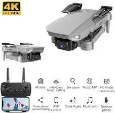 AmandaJ <b>E88</b> Pro Drone <b>4K Quadcopter</b> GPS Drone, FPV Drone ...