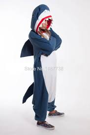 popular shark pajamas buy cheap shark pajamas lots from adult onesies unisex fleece animal shark pajamas novelty sleepwear pyjamas jumpsuit nightwear carnival cosplay costumes