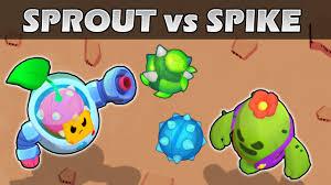 SPROUT vs <b>SPIKE</b> | 1vs1 | <b>Brawl Stars</b> Olympics