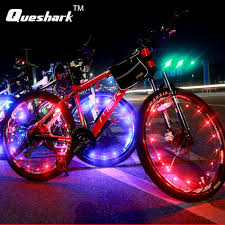 1pcs Waterproof <b>Colorful Bicycle Lights</b> Bike Wheel Spoke 20 LED ...