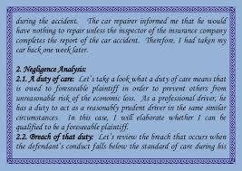 negligence essay  jpgcb sample mla research paper help