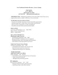 resume template for non college graduate all file resume sample resume template for non college graduate resume examples for college students and graduates resume example simple