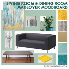 aqua living room design apartment living room dining room makeover moodboard the decor guru mi