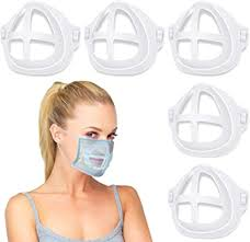 <b>3D</b> Bracket for Comfortable Mask Wearing, Silicone <b>Face Mask Inner</b>