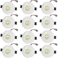 Galaxy Led <b>3W</b> Round COB Spot <b>Light</b>, Color of LED <b>Warm</b> White ...