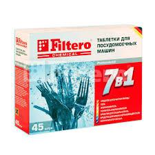 FILTERO <b>Очиститель Жира</b> и <b>накипи для ПММ</b>, 250 гр, арт. 706 ...