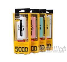 Портативный <b>аккумулятор Power</b> Bank <b>REMAX</b> E5 5000 mAh ...