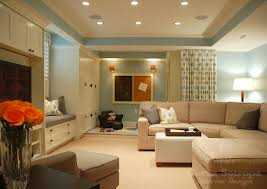 basement lighting design basements gray sectional sofa design decor photos pictures painting basement lighting design