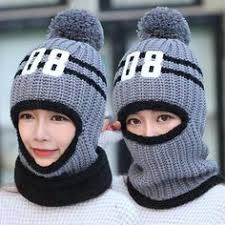 <b>SUOGRY</b> Winter Beanie Hat Scarf and Mask Set 3 Pieces <b>Thick</b> ...