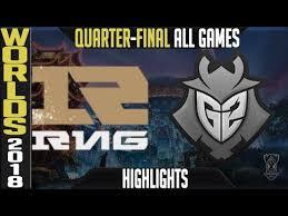 RNG vs G2 | Quarterfinal <b>Game 5</b> | World Championship | Royal ...