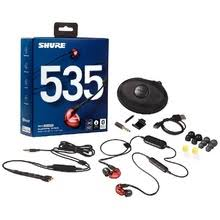<b>Вставные наушники Shure SE</b> 535 LTD BT1-EFS красный - купить ...