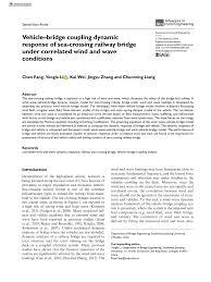 (PDF) Vehicle–<b>bridge</b> coupling dynamic response of <b>sea</b>-crossing ...