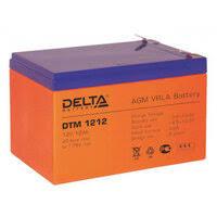 «Аккумуляторная <b>батарея Delta DTM</b> 1212 (12V/12Ah)_D_K ...