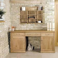 baumhaus mobel solid oak fully assembled large hidden home office twin pedestal desk baumhaus mobel solid oak fully