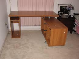 build homemade office desk diy l shaped desk plans diy home office desk recycled