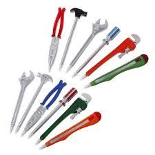 <b>6pcs Simulation Hardware</b> Tools Creative Ballpoint Pens | Shopee ...