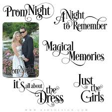 Prom Word Art Photo Overlays for Scrapbooking PROM by ashedesign via Relatably.com