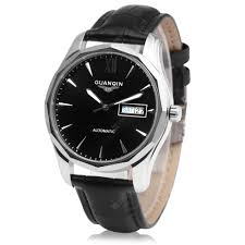 <b>GUANQIN GJ16034 Men</b> Auto Mechanical Watch