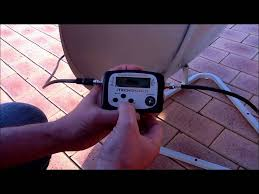 <b>Satellite Finder</b> meter how to use - YouTube