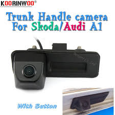 Koorinwoo HD CCD Parking Car <b>Rear View Trunk Handle</b> Button ...