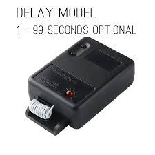 <b>KTNNKG DC 12V</b> 1CH <b>10A</b> Wireless Remote Control Switch Delay ...