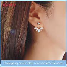 ys simple pearl stud earrings