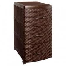 <b>Комод IDEA РОТАНГ</b> (<b>3</b> секции) коричневый ротанг : купить по ...