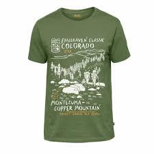 <b>Футболка Fjallraven</b> - <b>Classic</b> US <b>T</b>-<b>Shirt</b>, Ferm, р.XL (81945 ...