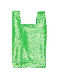 Ashish | Lime Sorbet Sequin Shopper Spring/Summer 2019 - odd92