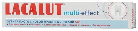 <b>Зубная паста Lacalut</b> Multi-<b>effect</b> — купить по выгодной цене на ...