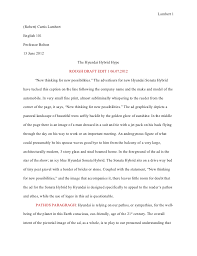 critical analysis essay example paper Free Essays and Papers