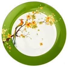 <b>Domenik Тарелка</b> обеденная <b>Paradise Bird</b> 24.5 см — купить по ...