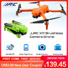 <b>JJRC X17</b> GPS 5G WiFi FPV with <b>6K</b> ESC HD Camera 2 Axis ...