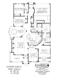 Villyard Cottage A House Plan   Active Adult House Plansvillyard cottage a house plan   st floor plan