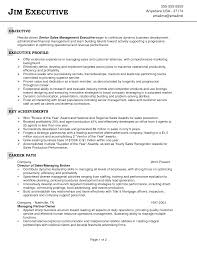 sales objectives for resumes resume objective for s manager