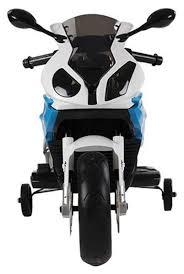Купить детский <b>электромотоцикл Jiajia BMW</b> S1000PR Синий ...