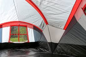 family zio double fish tank tahoe gear zion  person  season camping tent and screen porch tgt zion
