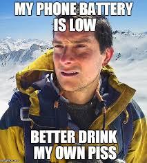 Bear Grylls Meme - Imgflip via Relatably.com