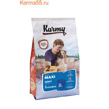 <b>Сухой корм Karmy Maxi</b> Adult для взрослых собак крупных пород ...