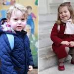 See Princess Charlotte's First Day of School Photos Side-by-Side With Big Brother Prince George's