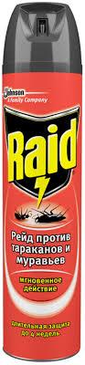 <b>Средство RAID</b> п/<b>тараканов</b> и муравьев аэрозоль – купить в сети ...