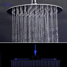 <b>Dofaso</b> 10 40cm big <b>shower</b> head Stainless <b>Bathroom Shower</b> top ...
