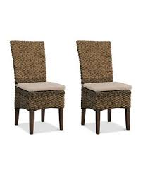 Furniture Calypso <b>Dining Chair 2</b>-<b>Pc</b>. Set (2 Woven Side Chairs ...