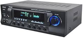 Wireless Bluetooth Audio Power Amplifier - 300W 4 ... - Amazon.com