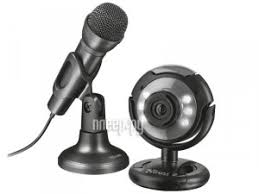 <b>Вебкамера Trust SpotLight Streaming</b> pack Black 22093