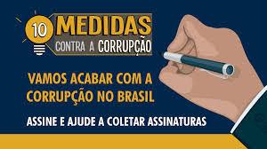 Resultado de imagem para MPF: RN ultrapassa meta de assinaturas das Dez Medidas contra Corrupção