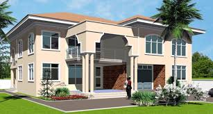 Ghana House Plans   Africa House Plans   Ghana Architectstorgbii house plan torgbii front