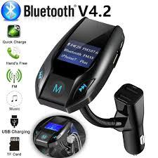 Wireless <b>Bluetooth Car</b> Kit MP3 Player FM Transmitter <b>USB Car</b> ...